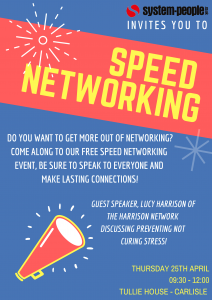 Speed Networking Flyer